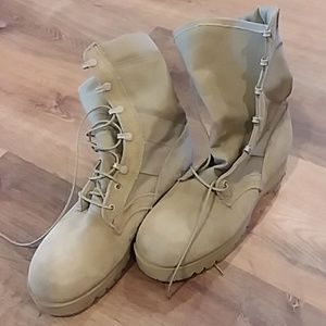 Army issue desert boots